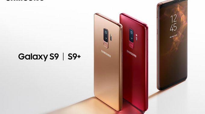 سامسونگ دو رنگ جدید برای گوشی گالکسی اس9 و اس9 پلاس معرفی کرد.